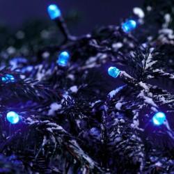 Illuminations guirlande Boa LED effet comète couleur blanc L10M 12W