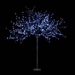 Arbres LED 3D 600Led blanc branches noir