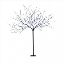 Arbres LED 3D 600Led blanc chaud branches noir 24V 24W