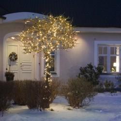Illuminations guirlandes LED pétillant bleu L10M 230V 9.2W