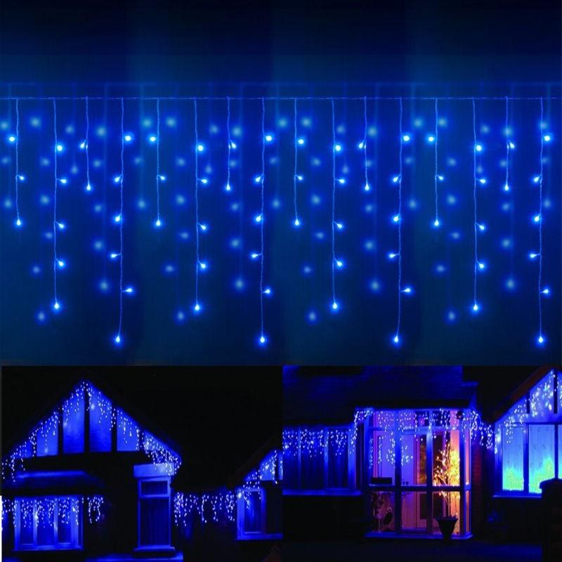 stalactites led l4 5m x h80cm 280 led 60 descentes couleur. Black Bedroom Furniture Sets. Home Design Ideas