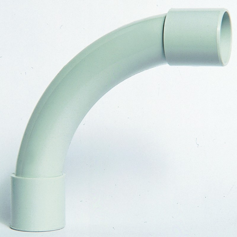 coude ip 40 de 20 pour tube irl gris iboco 20132. Black Bedroom Furniture Sets. Home Design Ideas