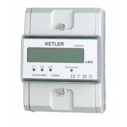 Compteur modulaire KETLER tétra 80 A affichage LCD