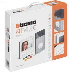 Interphone vidéo couleur V13M avec mémoire Bticino