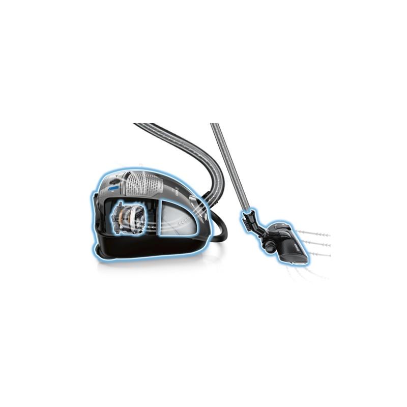 aspirateur avec sac gl45 bleu performant et super silencieux. Black Bedroom Furniture Sets. Home Design Ideas