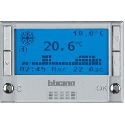 Thermostat électronique d'ambiance avec sonde de sol - LivingLight Anthracite