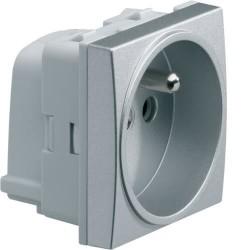 Systo Prise 2P+T 16A SanVis Titane