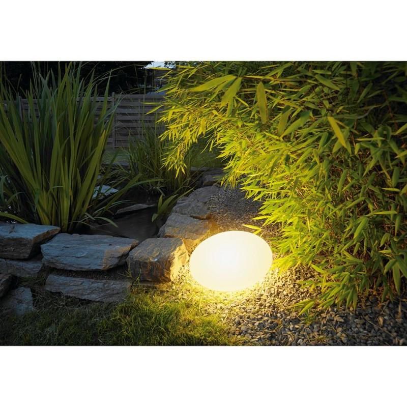 Lipsy out floor luminaire exterieur blanc e27 eco energie for Luminaire exterieur blanc