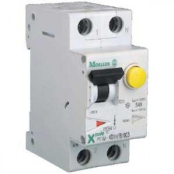 Disjoncteur diff PKNM 1P+N - C/G-10MS 20A 30mA