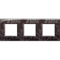 Plaque Livinglight Air Décor 2+2+2 modules entraxe 71 mm - Ramage