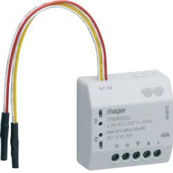 Micro module Hager 1 SORTIE VR + 2E KNX RADIO