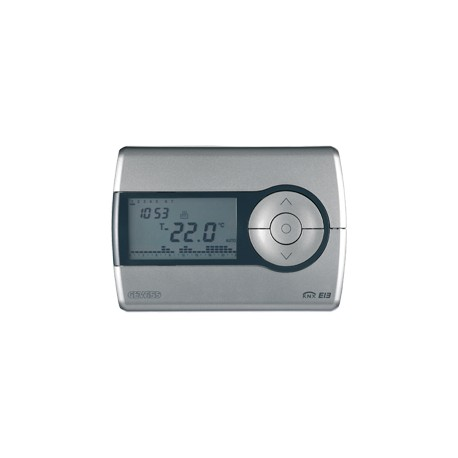 Thermostat programmable Gewiss easy system domotique knx blanc