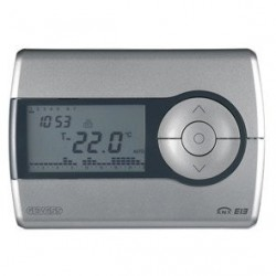 Thermostat programmable Blanc Gewiss master system knx domotique
