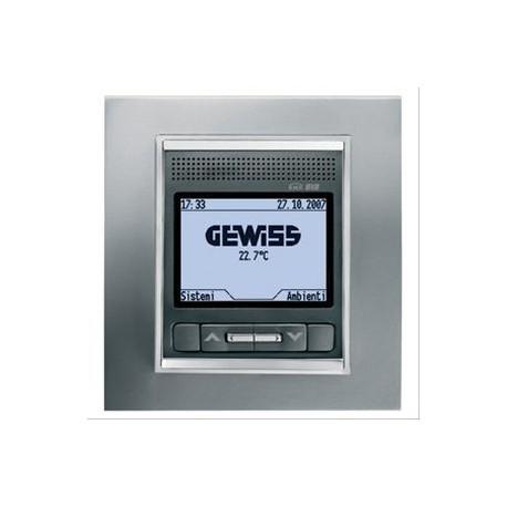 Panneau de controle titane Gewiss master system knx domotique