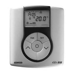 Thermostat system titane Gewiss master system knx domotique