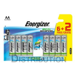 Pile AA FSB8 ENERGIZER eco advanced 6+2