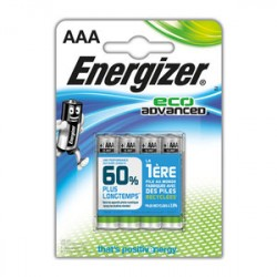 Pile AAA LR03 FSB4 ENERGIZER eco advanced