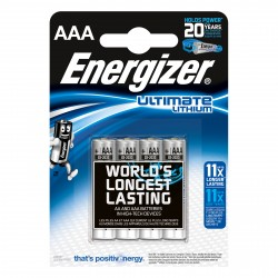 Pile Energizer AAA (L92) Ultimate lithium