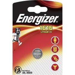 Pile 1616 FSB1 ENERGIZER Lithium CR1616