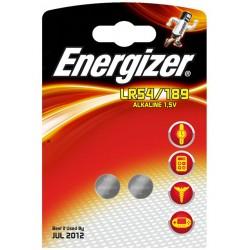 Pile LR54/189 ENERGIZER Alcaline 2/189 1,5 Volt - Blister de 2 piles