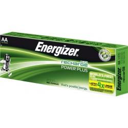 Lot de 10 piles AA - HR6 2000mAh ENERGIZER ACCU Recharge