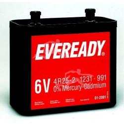 Pile spéciale 991/4R25-2 VP ENERGIZER EVEREADY