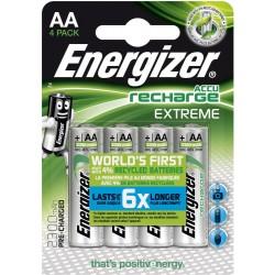 Piles rechargeables Extrême AA 2300mAh - NH15 ENERGIZER Lot de 4
