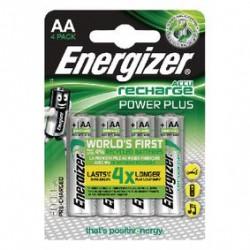 Piles rechargeables AA 2000MAH ENERGIZER POWERPLUS - Lot de 4