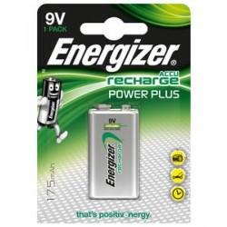Pile rechargeable 9V 175mA HR22 ENERGIZER POWER PLUS