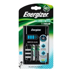CHARGEUR 1H+ 2AA 2300 mAh ENERGIZER