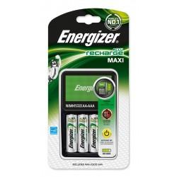 CHARGEUR MAXI + 4AA 2000mAh ENERGIZER