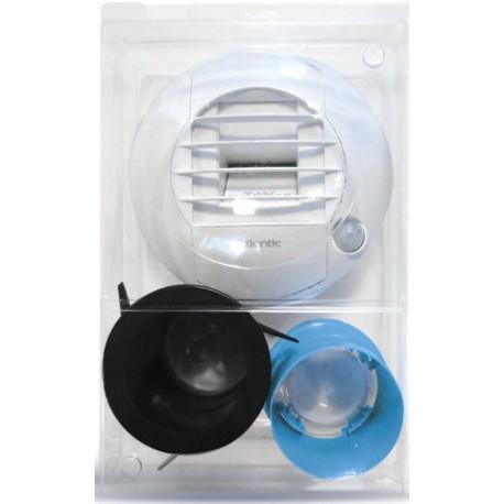 kit bouche d 39 extraction autoreglable wc a piles diametre 80. Black Bedroom Furniture Sets. Home Design Ideas