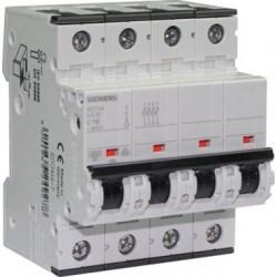 Disjoncteur tétrapolaire 16A Siemens 4 pôles