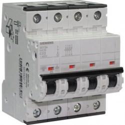 Disjoncteur tétrapolaire 32A Siemens 4 poles