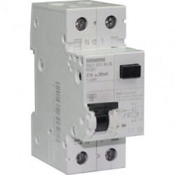 Disjoncteur différentiel Siemens 30mA 16A type AC