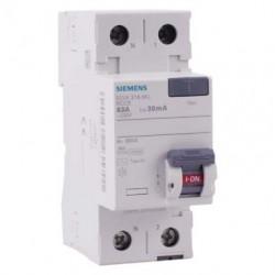 Interrupteur différentiel 63A type AC 30mA