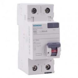 Interrupteur diff. Siemens 40A type AC 30mA