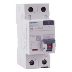 Interrupteur différentiel Siemens 63A type A 30mA