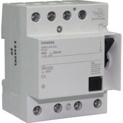 Interrupteur différentiel Siemens tétrapolaire 40A 30mA type AC
