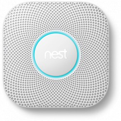 Détecteur de fumée filaire 230V Nest Learning Protect 2ème Génération