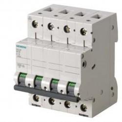 Disjoncteur 50 A 6ka tétrapolaire Siemens