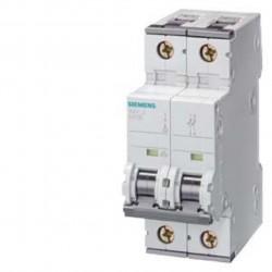 Disjoncteur 16 A 2 pôles Siemens pour parafoudre