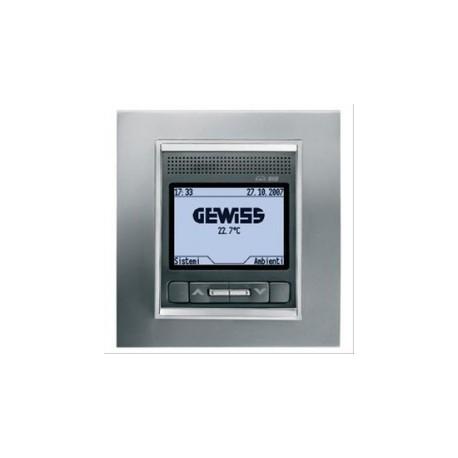 Panneau de controle blanc Gewiss master system knx domotique