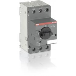Disjoncteur moteur magneto-thermique MS116 6.3A ABB
