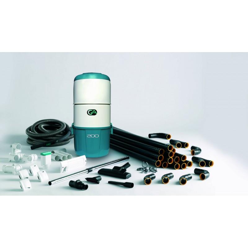 pack 180 centrale ga200 aspiration centralis e puissance maxi 1800w. Black Bedroom Furniture Sets. Home Design Ideas