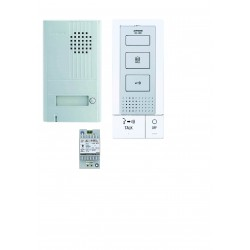 KIT portier audio 2 fils mains-libres Aiphone