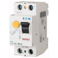 Interrupteur Différentiel 2X25A 30MA TYPE A Eaton