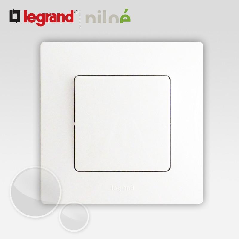 Interrupteur ou va et vient legrand niloe pur blanc for Changer interrupteur va et vient