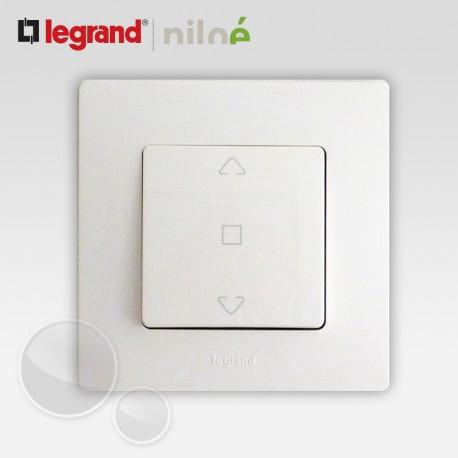 interrupteur volet roulant 3 positions haut bas stop niloe. Black Bedroom Furniture Sets. Home Design Ideas