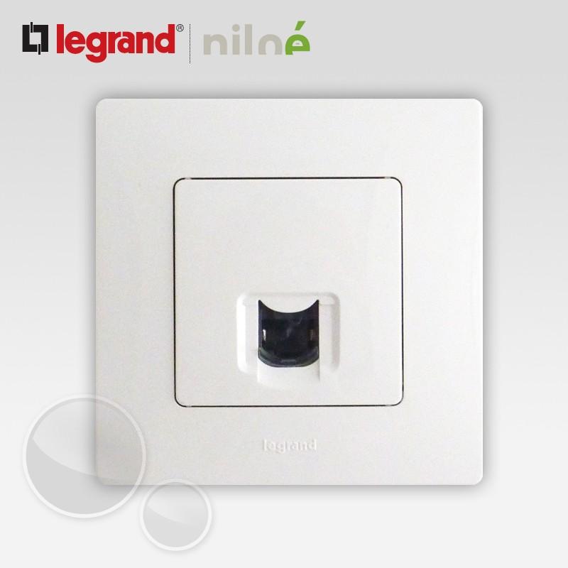 prise rj45 cat gorie 6 ftp legrand niloe pur blanc 664777 665001. Black Bedroom Furniture Sets. Home Design Ideas